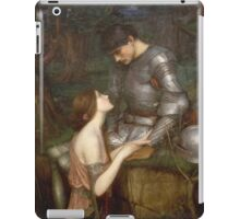 John William Waterhouse - Lamia. Lovers portrait: sensual woman, woman and man, kiss, kissing lovers, love relations, lovely couple, family, valentine's day, sexy, romance, female and male iPad Case/Skin