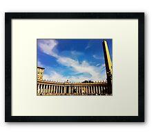 Heavenly Rome, Photo / Digital Painting  Framed Print