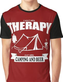 camping marshmallow get toastoed Graphic T-Shirt