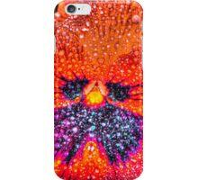 Vivid Orange Pansy in HDR iPhone Case/Skin