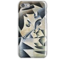 Juan Gris - Portrait Of Josette. Abstract painting: abstract art, geometric, expressionism, composition, lines, forms, creative fusion, spot, shape, illusion, fantasy future iPhone Case/Skin