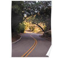 The Road To El Capitan Reservoir, San Diego , California, 11 Poster