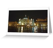 St. Peter in Christmas Day in the rain Greeting Card