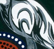 curlew star gazing Sticker