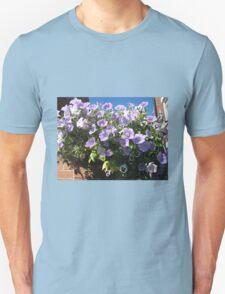 Mauve Is Pretty! Hanging Basket Unisex T-Shirt