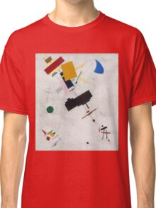 Kazimir Malevich - Suprematism. Abstract painting: abstract art, geometric, expressionism, composition, lines, forms, creative fusion, spot, shape, illusion, fantasy future Classic T-Shirt