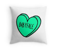Babyface 2 Throw Pillow