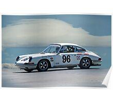 1965 Porsche 911 Racecar Poster