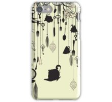 Tea party theme iPhone Case/Skin