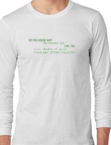 Shades of Green (UK) Long Sleeve T-Shirt