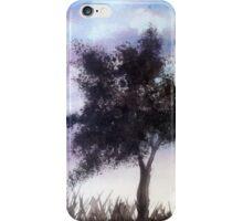 purple night sky  iPhone Case/Skin