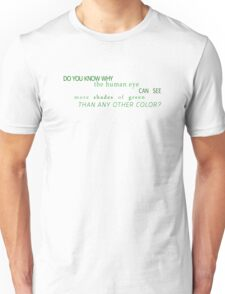 Shades of Green (US) Unisex T-Shirt