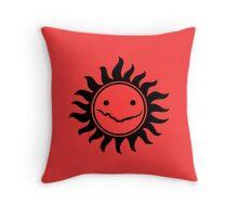 Superwholock - Red Throw Pillow