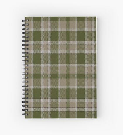 02885 St. Johns County, Florida Tartan  Spiral Notebook