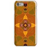 amber structure layer 332 iPhone Case/Skin