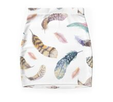 Feathers pattern 2 Mini Skirt