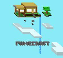 Minecraft Floating Island by Sam Smith