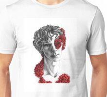 """Organic"" - sherlock portrait, colour highlighted version Unisex T-Shirt"