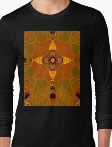 amber structure layer 332 Long Sleeve T-Shirt