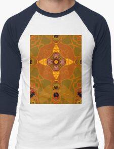 amber structure layer 332 Men's Baseball ¾ T-Shirt