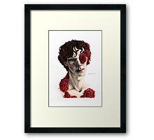 """""""Organic"""" - sherlock portrait, full colour version Framed Print"""