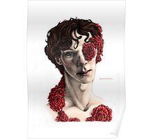 """Organic"" - sherlock portrait, full colour version Poster"
