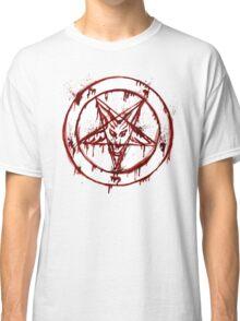 Satanic Pentagram Classic T-Shirt