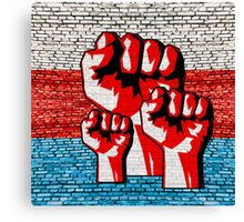 Power Fist Canvas Print