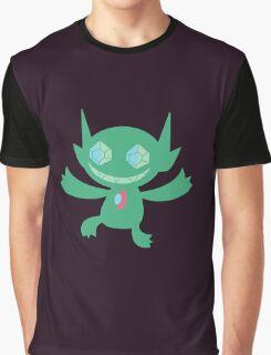 Sableye Green Graphic T-Shirt