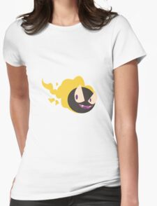Yellow Gastly Womens Fitted T-Shirt