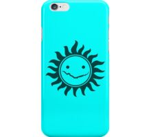 Superwholock - Sky Blue iPhone Case/Skin
