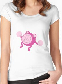 Pink Poliwhirl Women's Fitted Scoop T-Shirt
