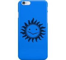 Superwholock - Blue iPhone Case/Skin