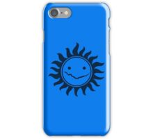 Superwholock - Blue iPhone Case/Skin