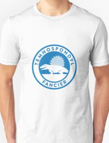 Temnospondyl Fancier Tee (Blue on White) T-Shirt