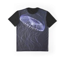 bioluminescence - victoria Jellyfish Graphic T-Shirt