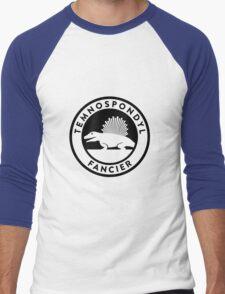 Temnospondyl Fancier Tee (Black on Light) Men's Baseball ¾ T-Shirt