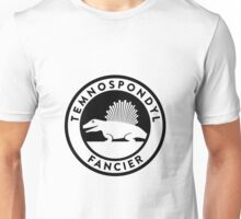 Temnospondyl Fancier Tee (Black on Light) Unisex T-Shirt
