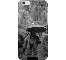 b/w at William Ricketts Sanctuary, Dandenongs iPhone Case/Skin