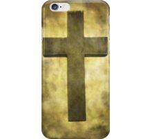 Cross in the light iPhone Case/Skin