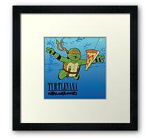 Turtlevana:Ninjamind Framed Print