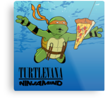 Turtlevana:Ninjamind Metal Print