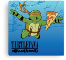 Turtlevana:Ninjamind Canvas Print
