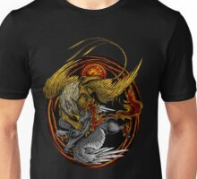 Griffin VS Nightmare horse Unisex T-Shirt