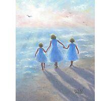 IMAGINE THREE BEACH SISTERS Photographic Print