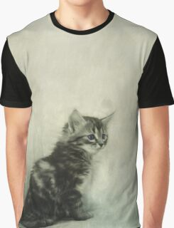 Little Kitty Graphic T-Shirt