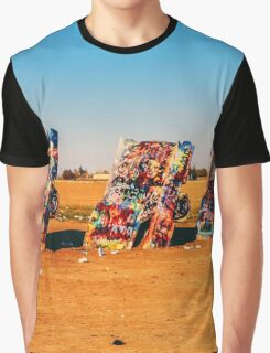 Sand, Cars and Art Graphic T-Shirt