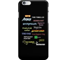I wanna these jobs. iPhone Case/Skin