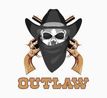 Outlaw Skull Unisex T-Shirt