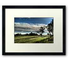 Golf At Dawn Framed Print